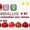 Weinrallye # 81 – Weinwichteln – Wir schenken uns reinen Wein ein