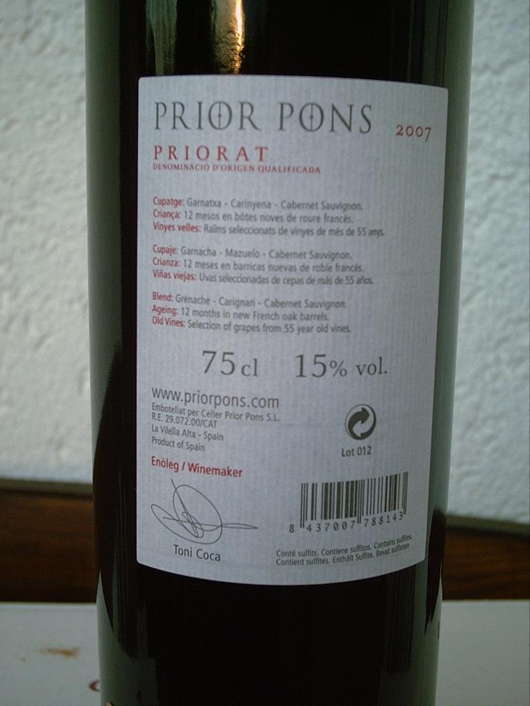 Prior Pons 2007 R
