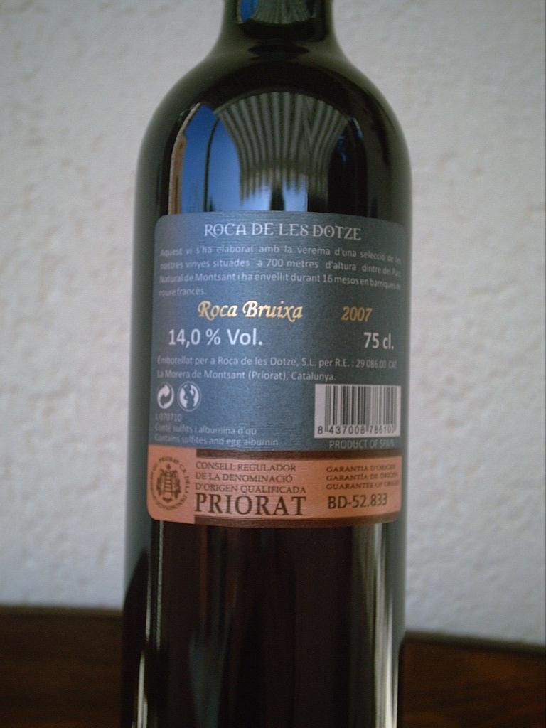 Roca Bruixa 2007 R