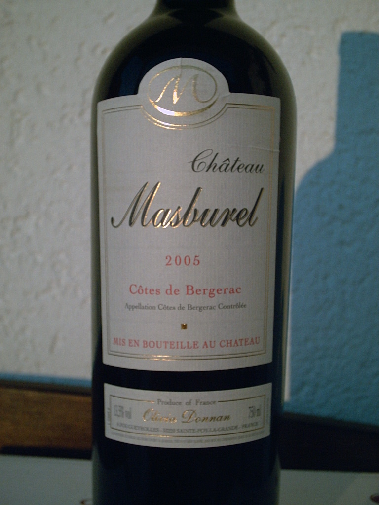 Château Masburel Rouge 2005