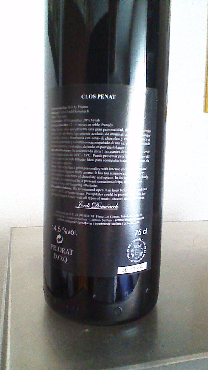 Clos Penat 2009 R