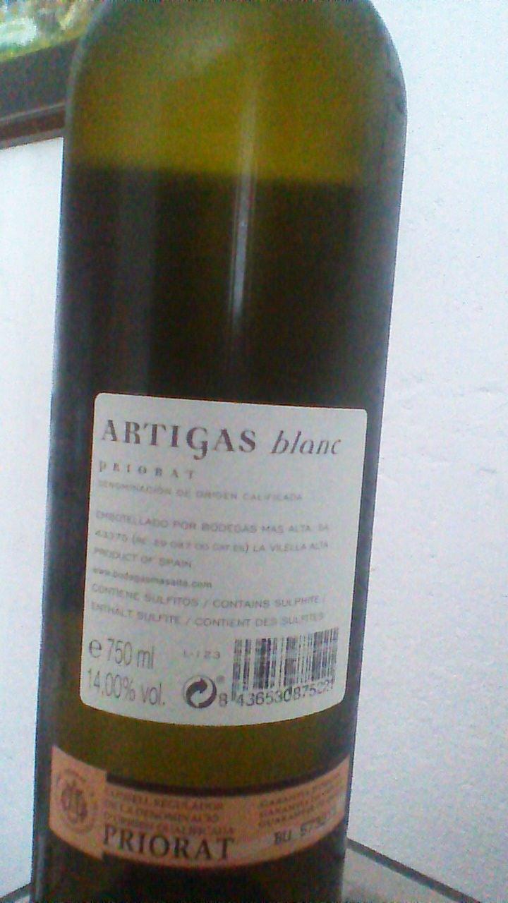 Artigas Blanc 2014 R