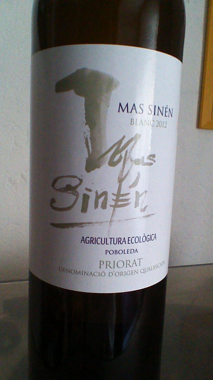 Mas Sinen Blanc 2012-2