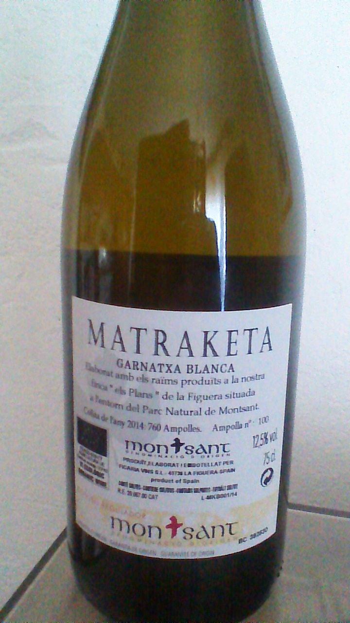 Matraketa Blanc 2014 R