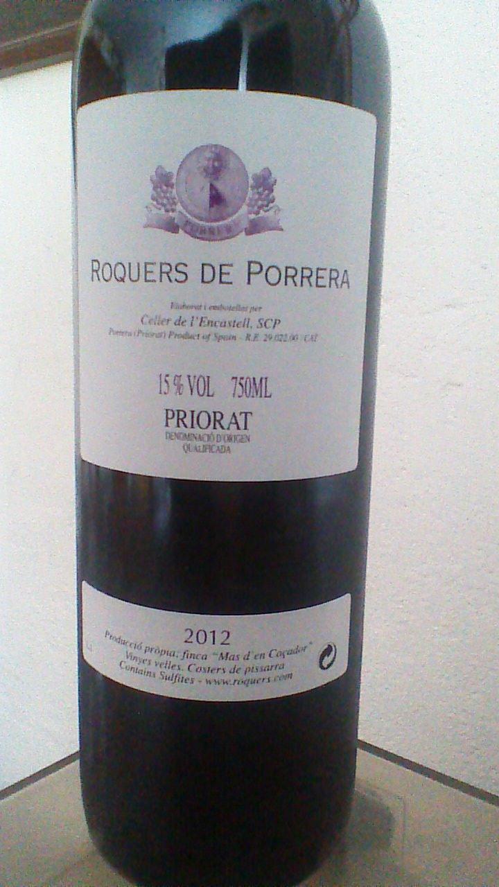 Roquers de Porrera 2012