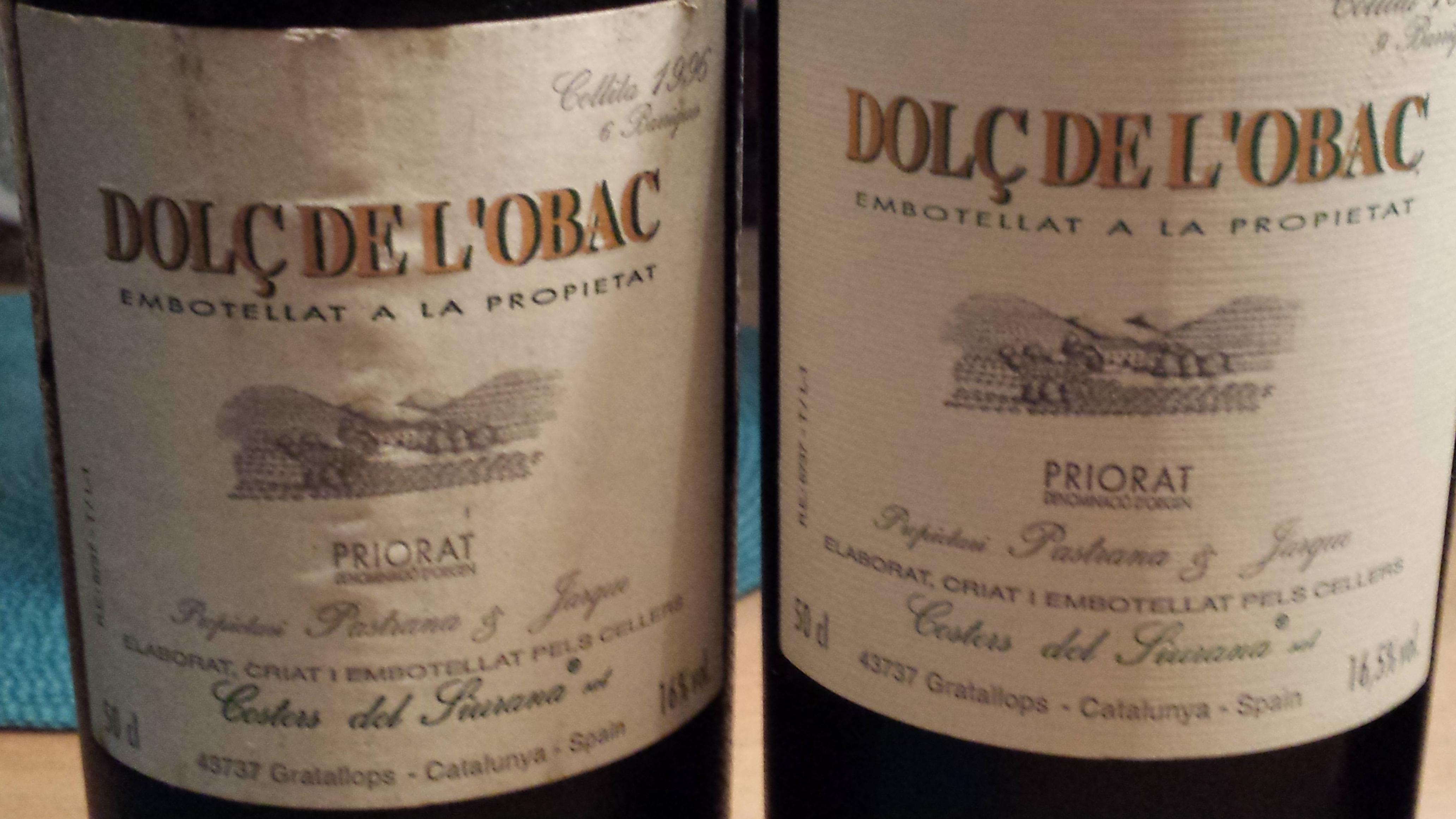 Dolc de l´ Obac 1996 und 1997